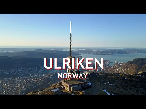 Seeing Bergen, Norway from Above - The World Is A Book