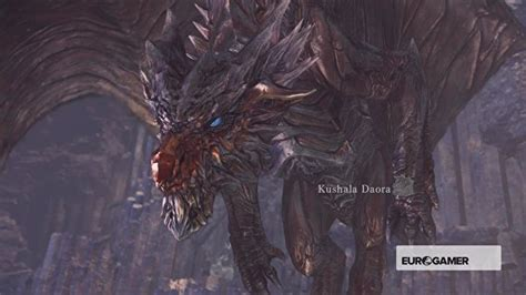 Monster Hunter World - Kushala Daora strategy, Kushala