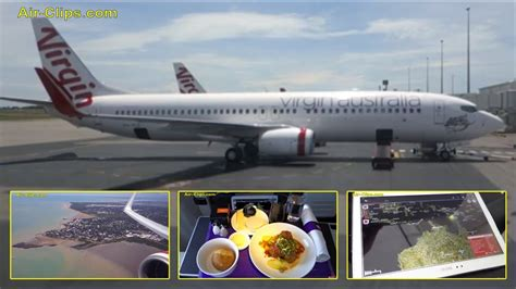 Virgin Australia Boeing 737-800 VERY COOL Business Class