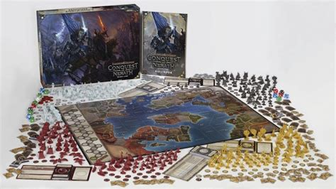 Conquest of Nerath takes D&D board gaming to an epic scale