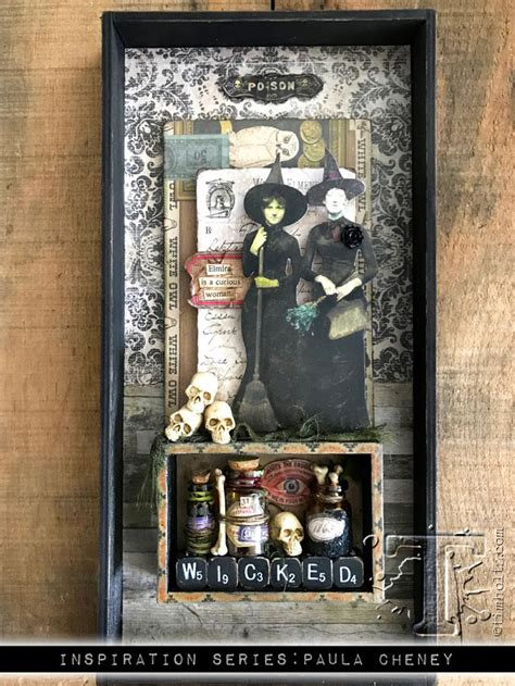 2017 inspiration series: idea-ology halloween… | Tim Holtz