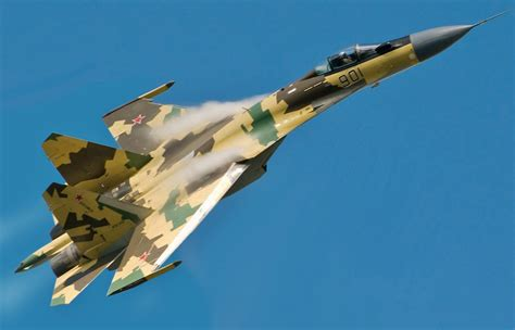 Here Comes Russia's Su-35 Flanker Fighter | The National