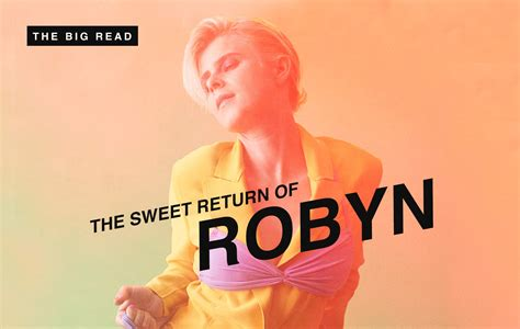 "The Big Read - Robyn: ""I danced a lot on my own"" - NME"