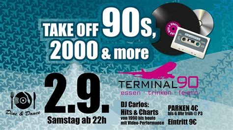 Party - Take off 90s & more - Terminal 90 in Nürnberg - 02