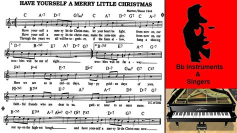 Have Yourself A Merry Little Christmas 70 Bpm Sing Play